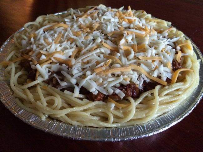 Cincinnati Chili Spaghetti Pie 2