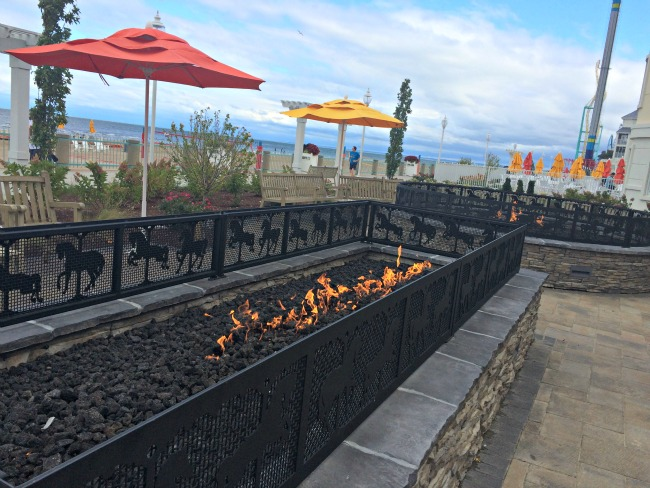 Hotel Breakers Fire Pits