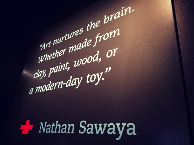 The Art of the Brick Quote