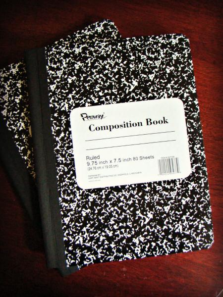 Summer Journals Composition Book