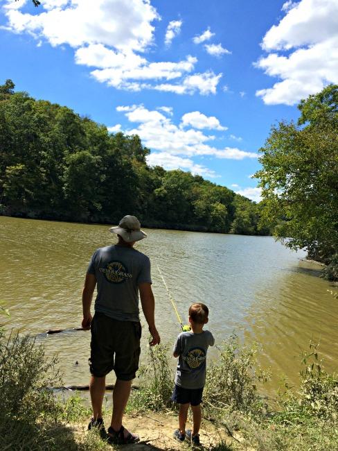 Doe Run Lake Fishing
