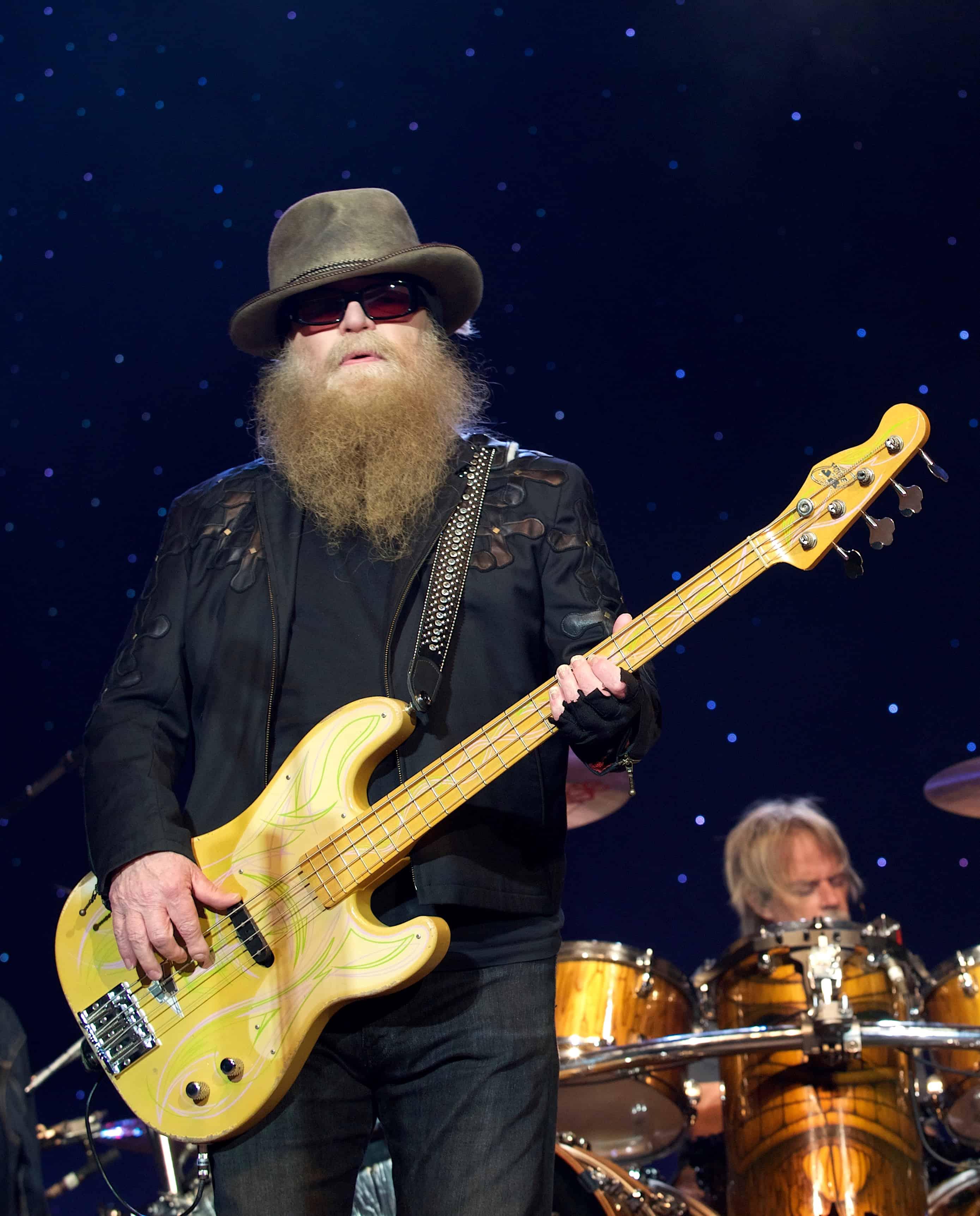 Dusty Hill, ZZ Top Bassist.