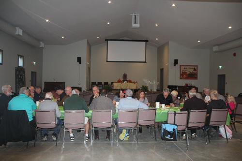 Mill Bay Baptist Church Worship Area