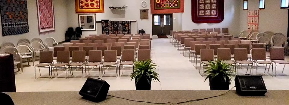 Baptist Mill Bay Church Inside