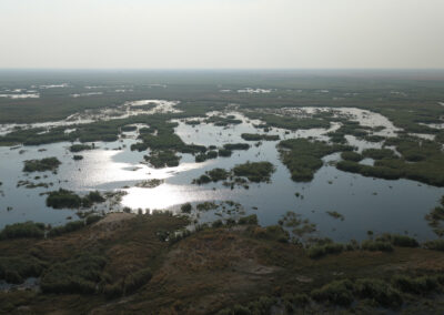 Maun Botswana Getting Here Header