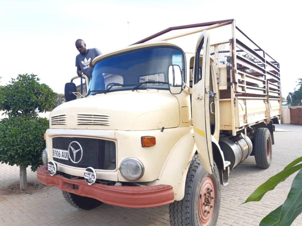 Brave Africa Supplies Truck