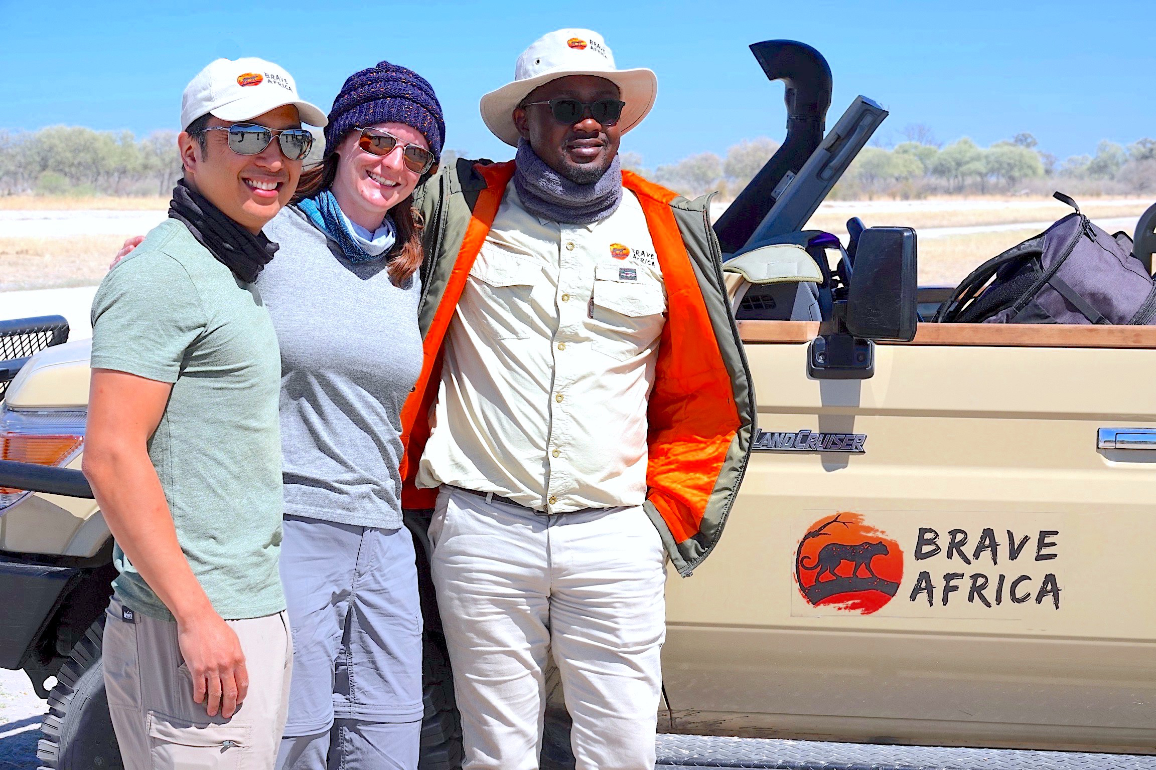 Brave Africa's 3 Owners: Patrick, Kelly, and Wina