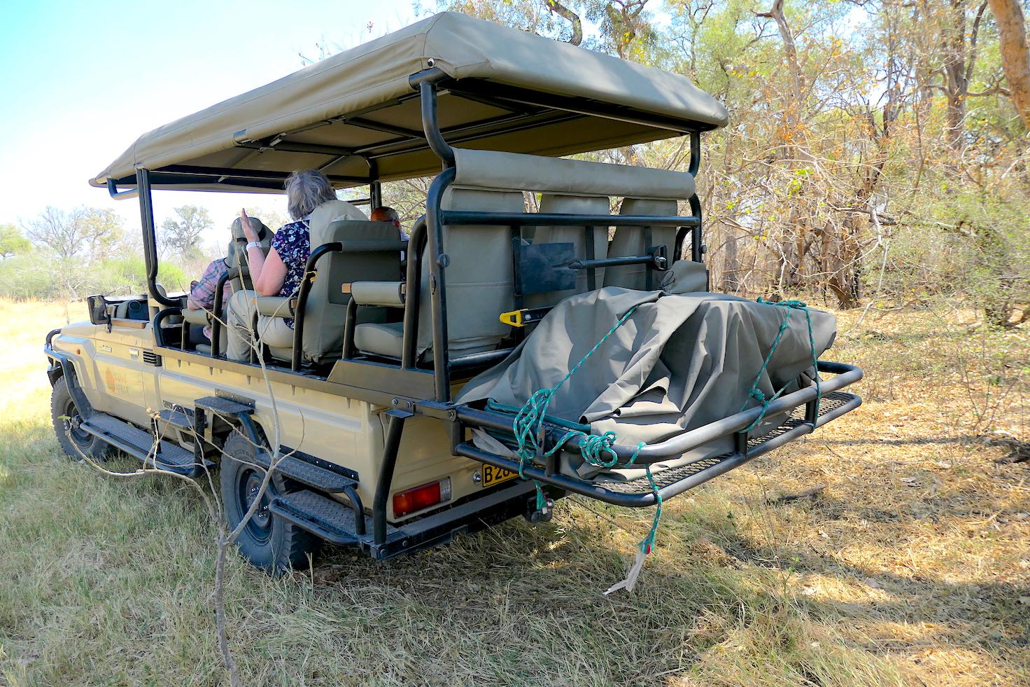 Brave Africa Safari Vehicle Storage