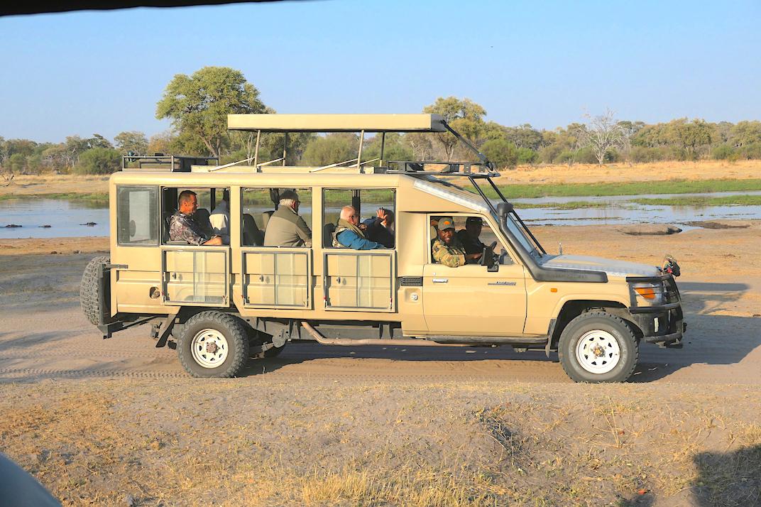 Safari vehicle modified