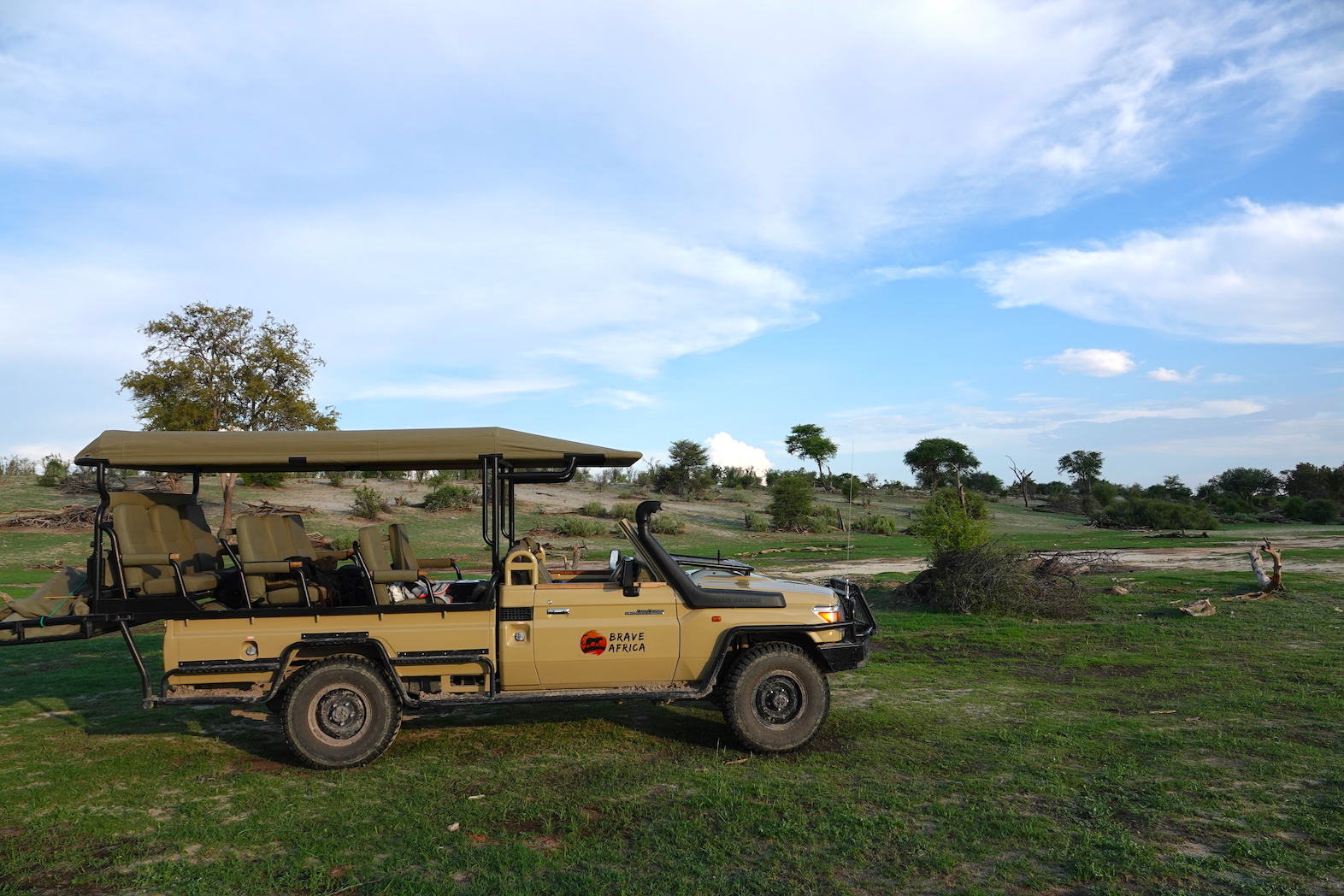 All-Day Game Drives African Safari Holiday