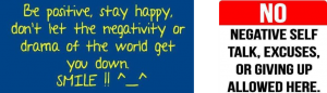 New Year's Resolution: End Negative Talk