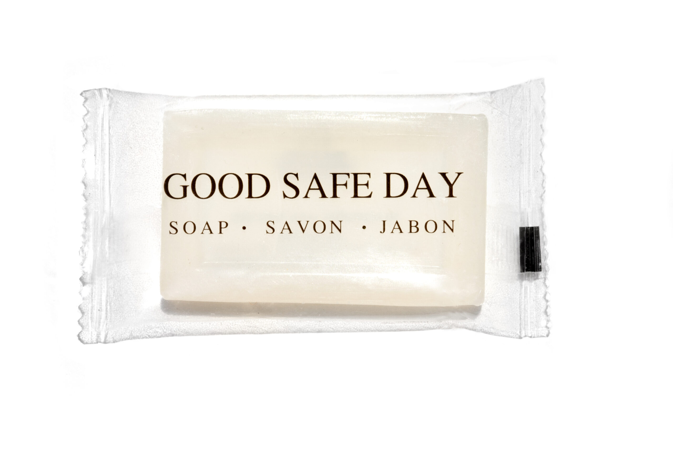 Transmacro Amenities Translucent Bar Soap Good Safe Day