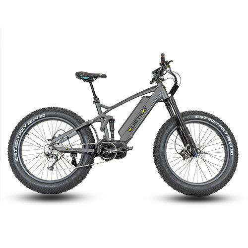 electric bike quiet kat
