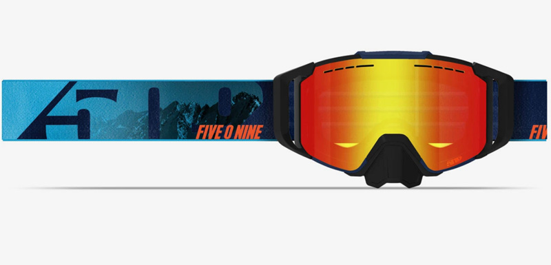 best snowmobile goggles 509 sinister