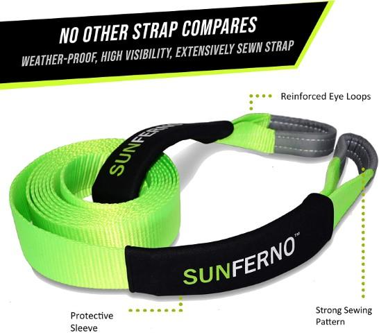 Tow Strap- Sunferno