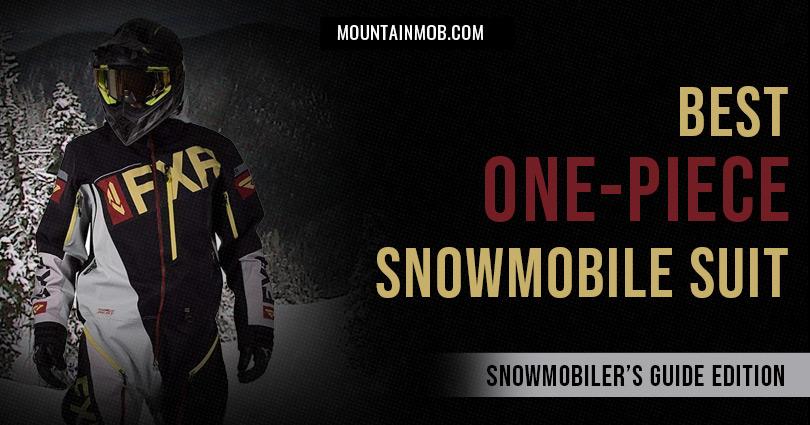best one-piece snowmobile suit