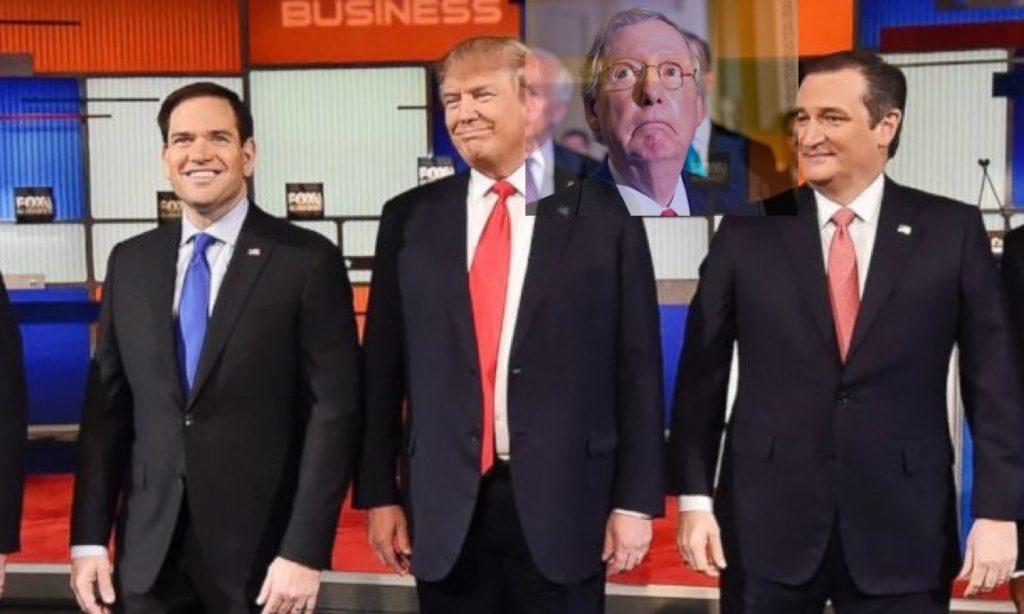 Trump, McConnell, Rubio, Cruz