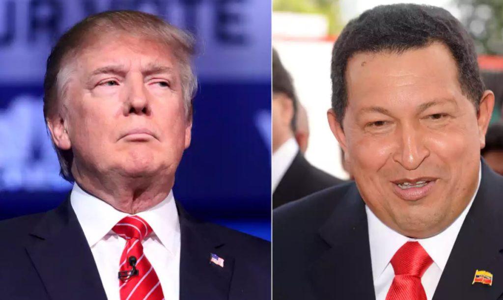 Donald Trump Hugo Chavez