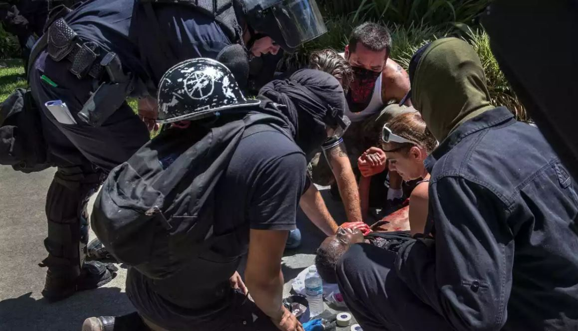 Multiple people stabbed at Sacramento white nationalist rally