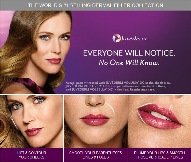 juvederm collection of fillers