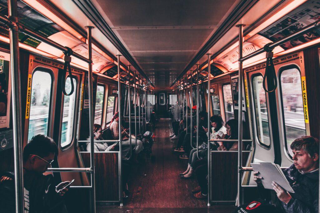 public transportation- eco-friendly lifestyle