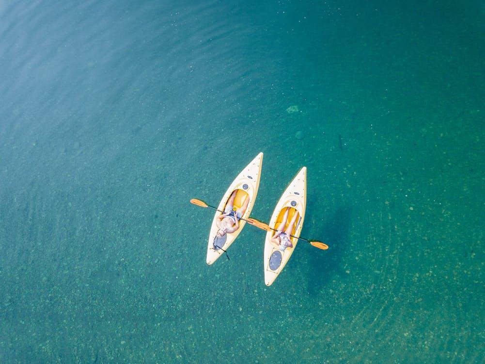 types of kayaking
