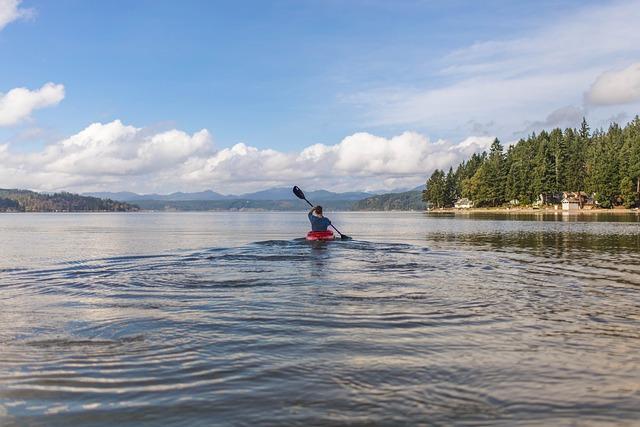 Kayaking on Lake during Covid-19