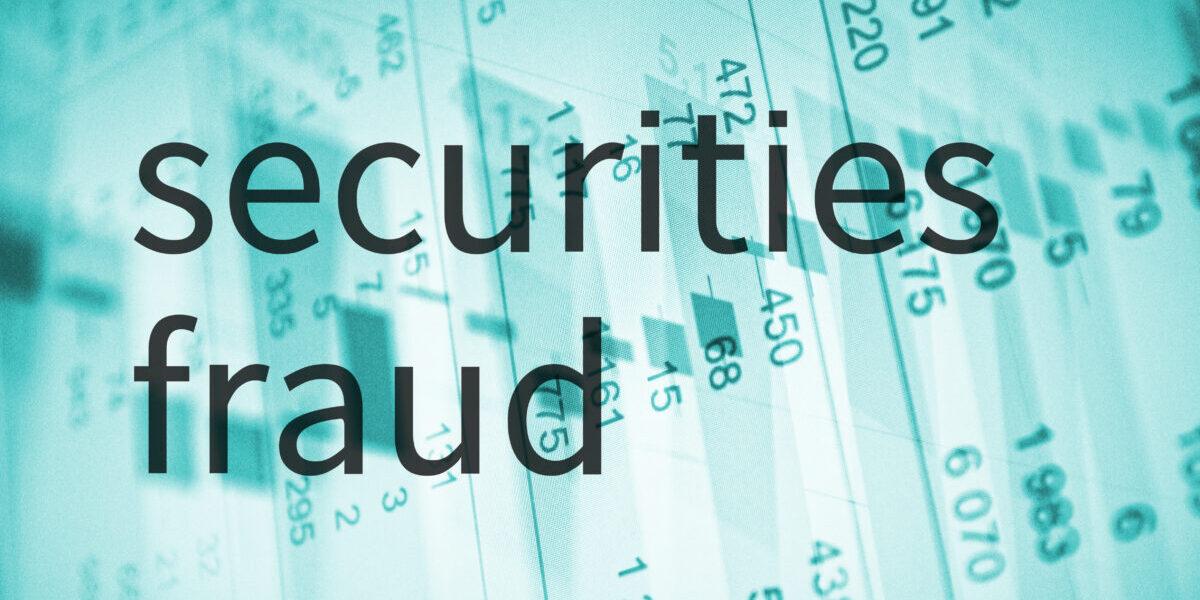 Securities Fraud - Shutterstock