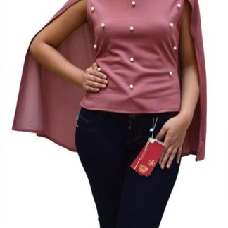 Blouse without sleeve.