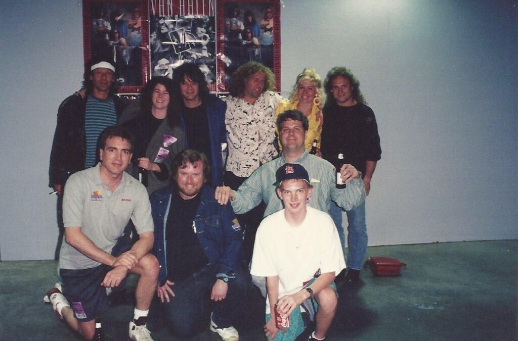 With Van Halen