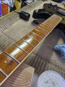 On display at Guitar Pickers in Scottsdale