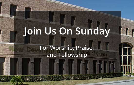 Join Us This Sunday!