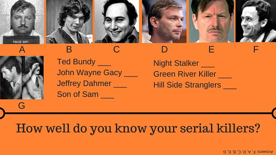 Serial killer fascination stems from real-life incident