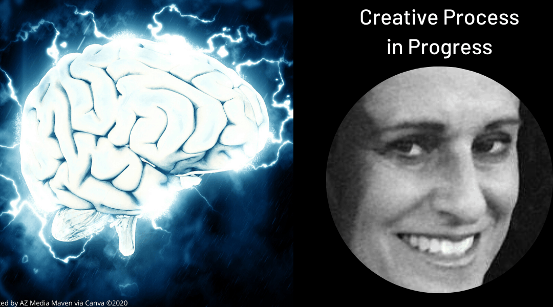 Churning of ideas gets creative process going, and the writing just flows
