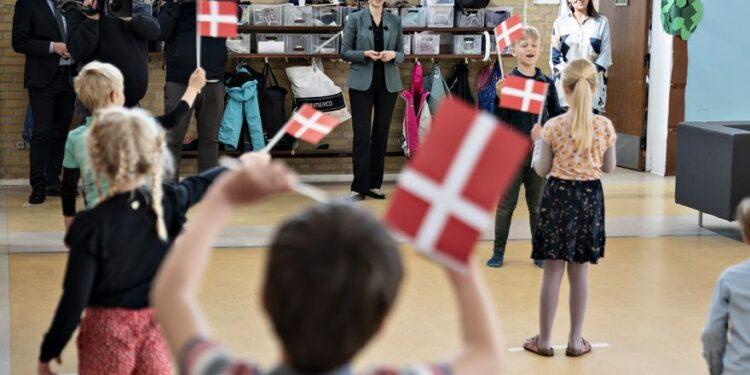 Reapertura de colegios en Dinamarca