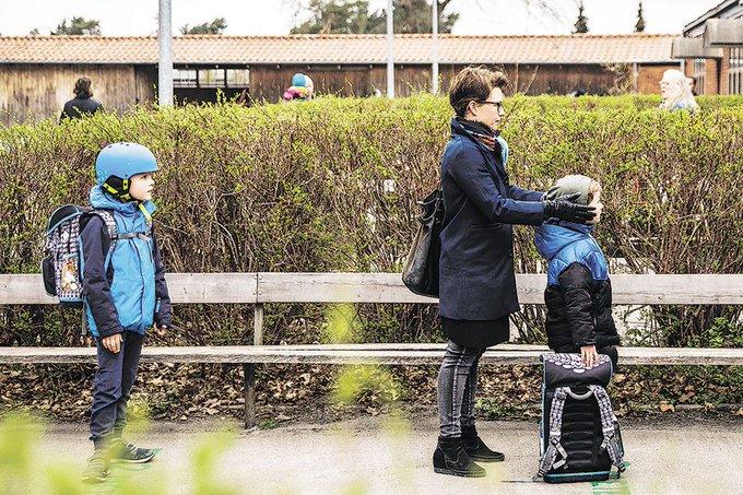 Niños de regreso al colegio