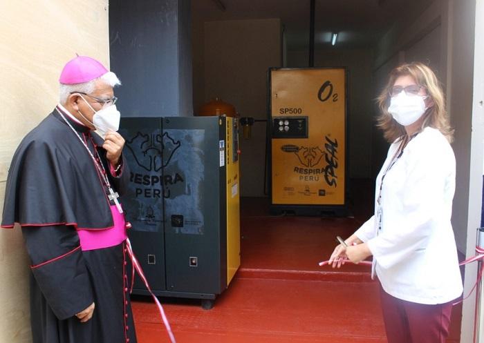 Perú donando oxigeno
