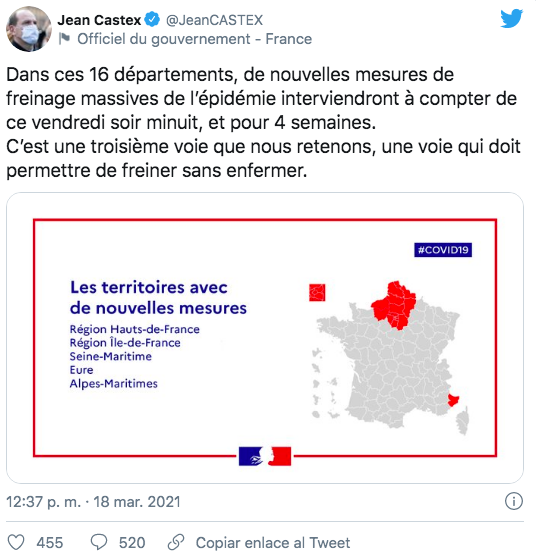 tweet Jean Castex