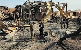 ataque a la base militar de Irak
