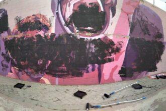 el-mural-feminista-de-ciudad-lineal-amanece-vandalizado-en-la-manana-del-8-m