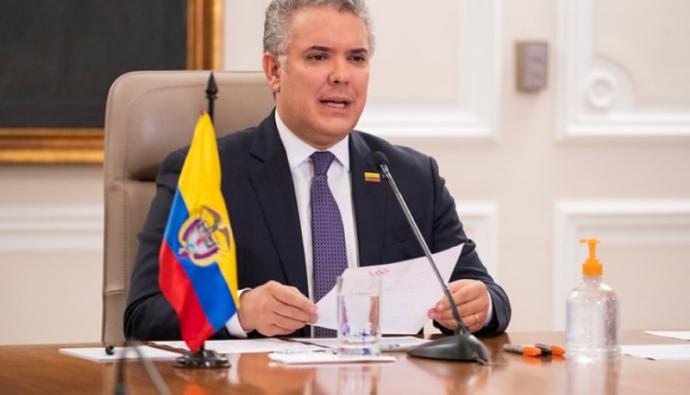 Iván Duque anuncia educación superior gratuita