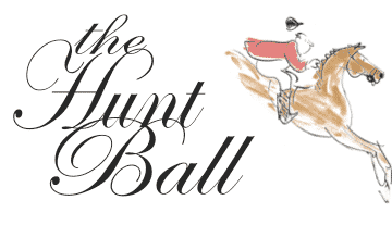 For a Hunt Ball Long and Black