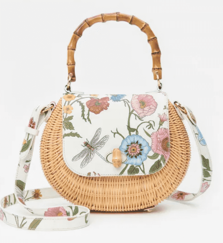J. McLaughlin Wicker Bag, What to wear Windsor Charity Polo Cup