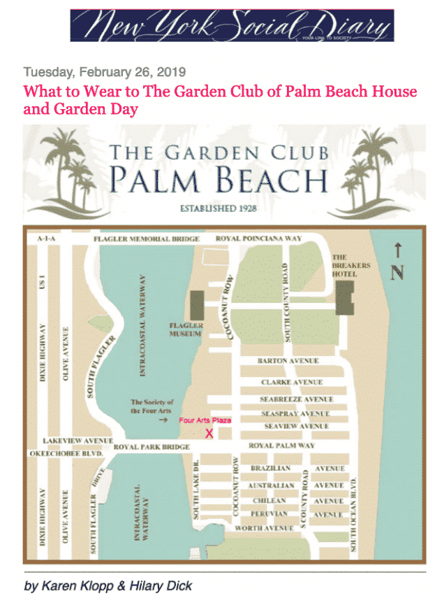 Garden Club Palm Beach House and Garden day tour.
