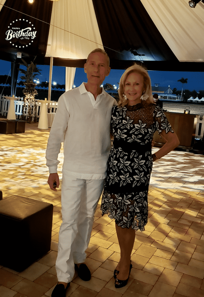 John and Karen Klopp, Black and White Ball