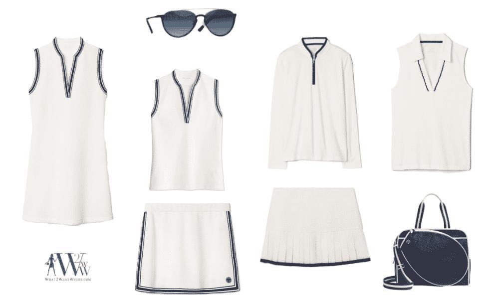 What to wear tennis.  Karen Klopp fashion advice.