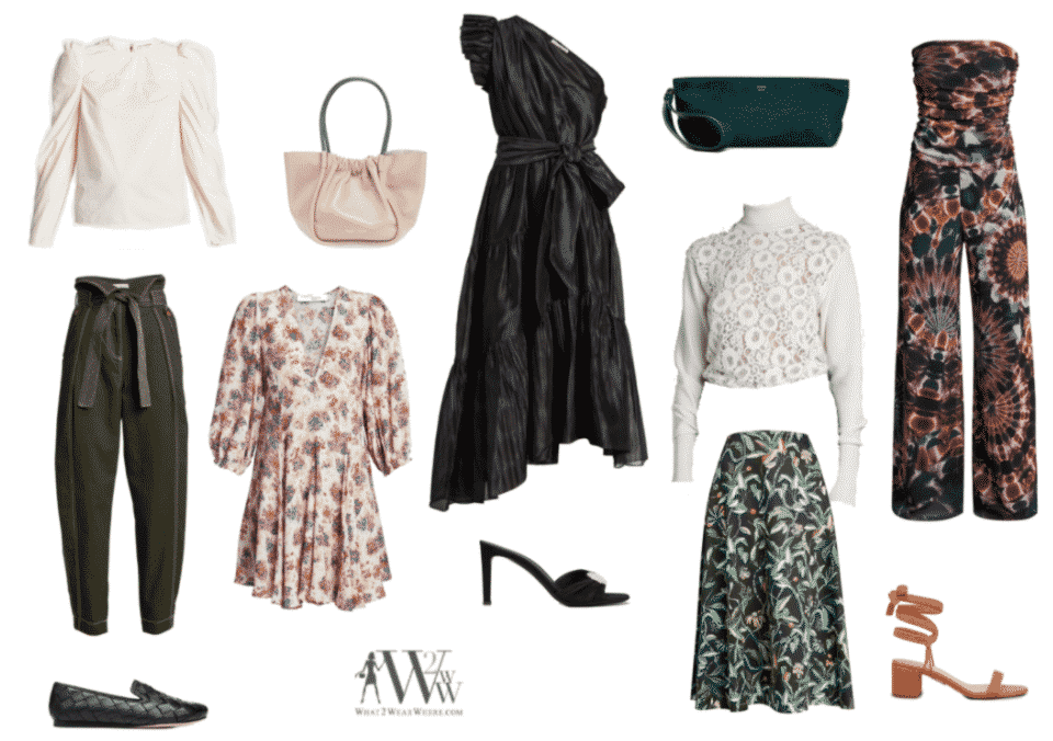 Independent Fashion Blogger Links à La Mode!  What To Wear Where  Hilary pre fall picks.