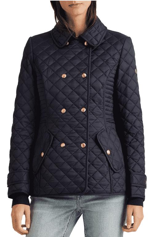 Karen Klopp ariticle on best quilted jackets and vests,  Ralph Lauren