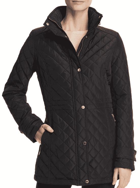 Karen Klopp ariticle on best quilted jackets and vests,  Calvin Klein