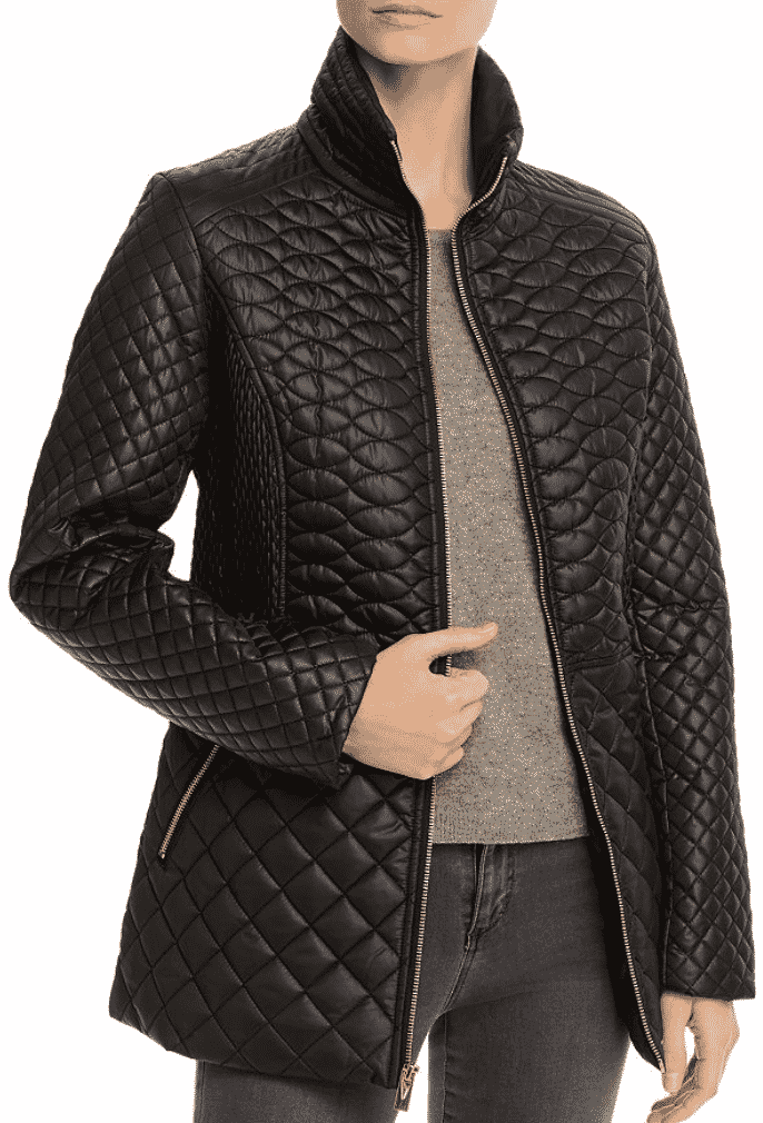 Karen Klopp ariticle on best quilted jackets and vests,  Via Spiga